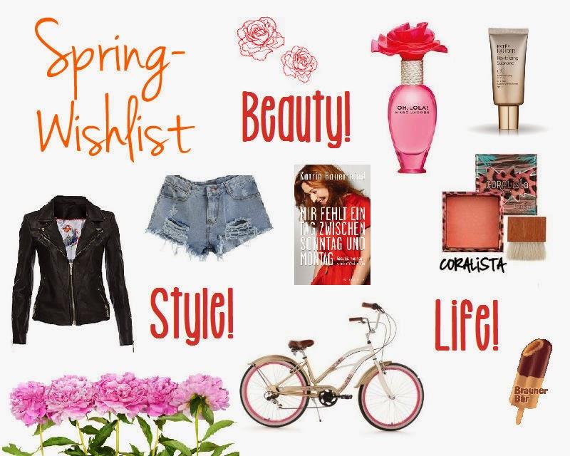 WISHLIST: Spring-Wishlist