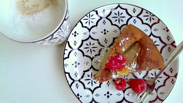 Sonntagskuchen Birnen-Walnuss-Kuchen