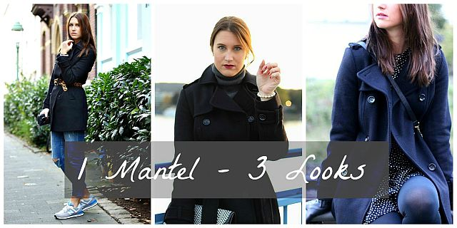 1 Mantel – 3 Looks // Edited.de