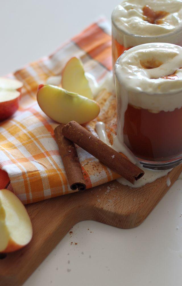 Salted Caramel Hot Apple Cider