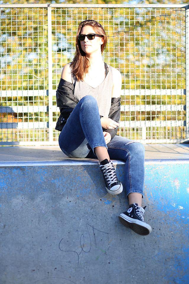Lässiges Skateroutfit / Fotoshooting mit Mathias Radke