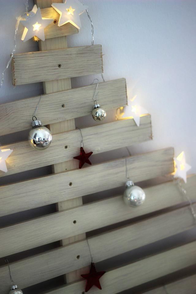 DIY Weihnachtsbaum für Minimalisten // 3. ADVENTS-GEWINNSPIEL | The ...