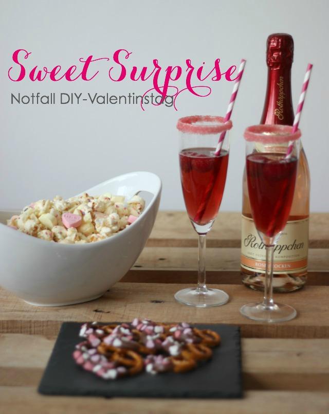 Sweet Surprise – Notfall DIY Geschenk für den Valentinstag