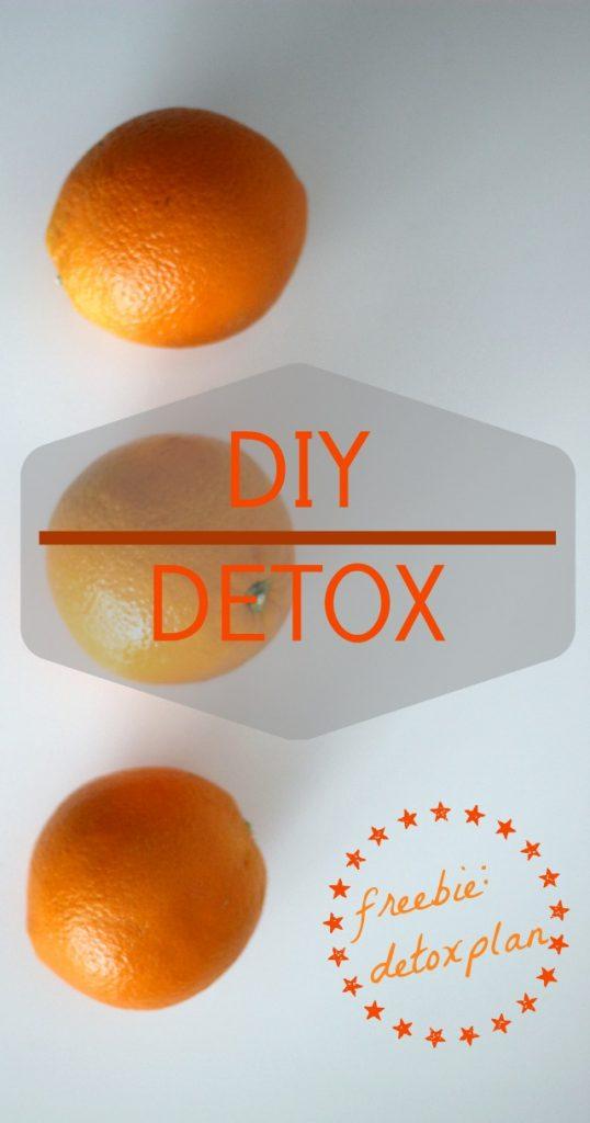 FRÜHJAHRSFIT: DIY DETOX – 5 Tage Detoxkur unter 50 €