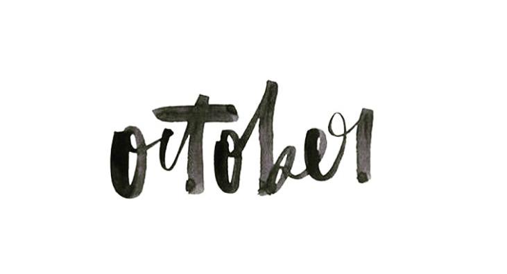 Editor's Note: October Edit