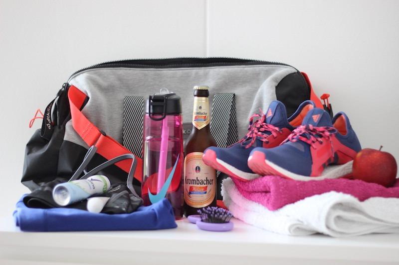 Was ist in meiner Sporttasche?