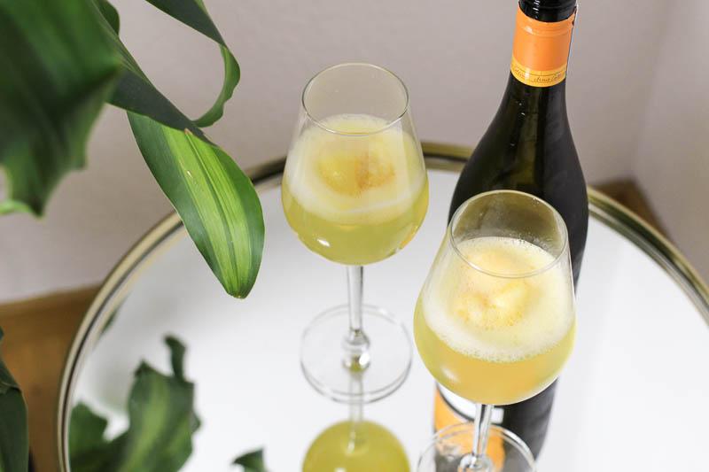 Mimosas with a Twist – Schneller Aperitif für Gäste