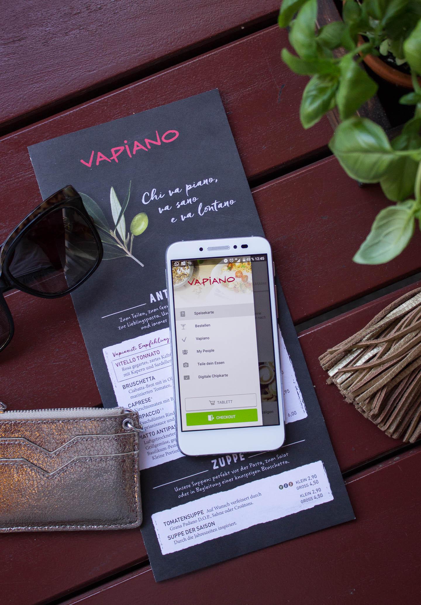 Schnelle Mittagspause bei VAPIANO mit der neuen App
