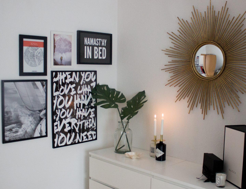 Wohnung frühlingshaft dekorieren mit Postern