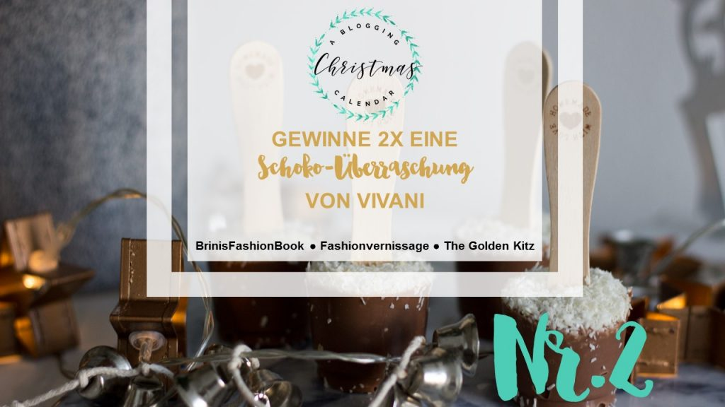 A blogging Christmas Calendar #2: Schoko-Kokos-Küsschen – Heiße Trinkschokolade mit Vivani