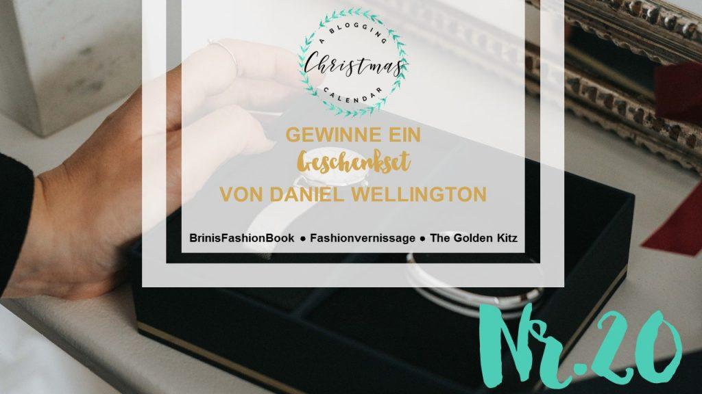 A blogging Christmas Calendar #20: Daniel Wellington Geschenkset