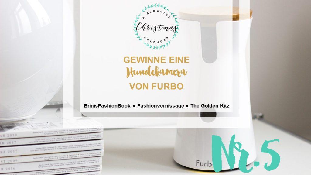 A blogging Christmas Calendar #5: Furbo Hundekamera zu gewinnen