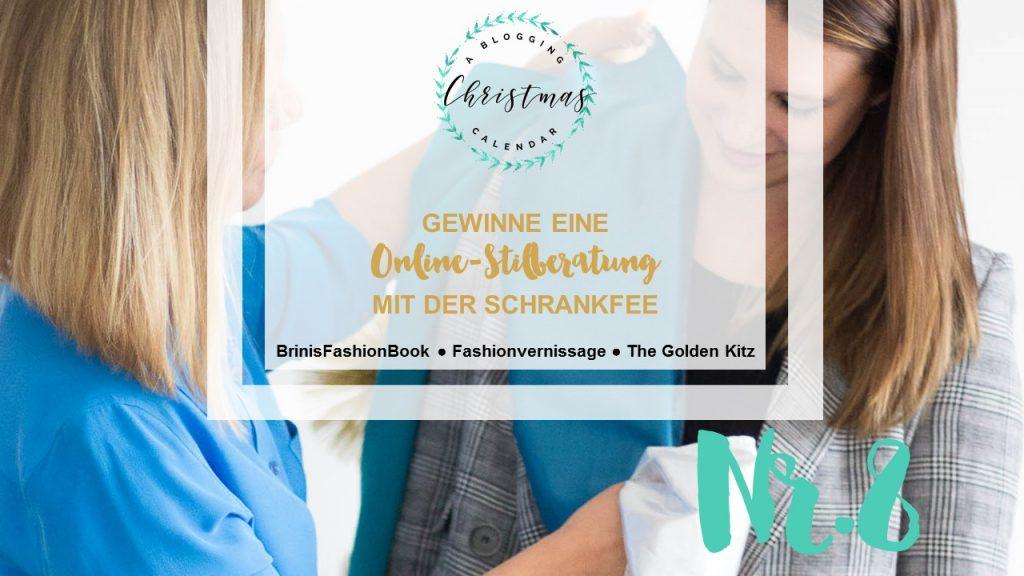 A blogging Christmas Calendar #8: Schrankfee Kleiderschrank-Coaching