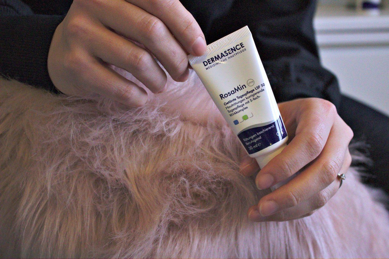 Was tun gegen Hautrötungen (Rosazea)? Meine Erfahrungen mit DERMASENCE RosaMin.