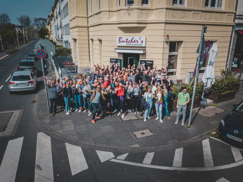 Schnitzeljagd durch Bonn!