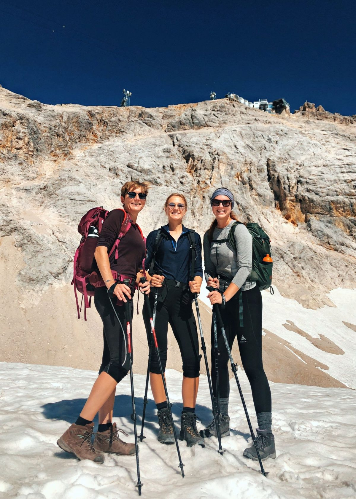 Wanderung auf die Zugspitze fuer Fortgeschrittene