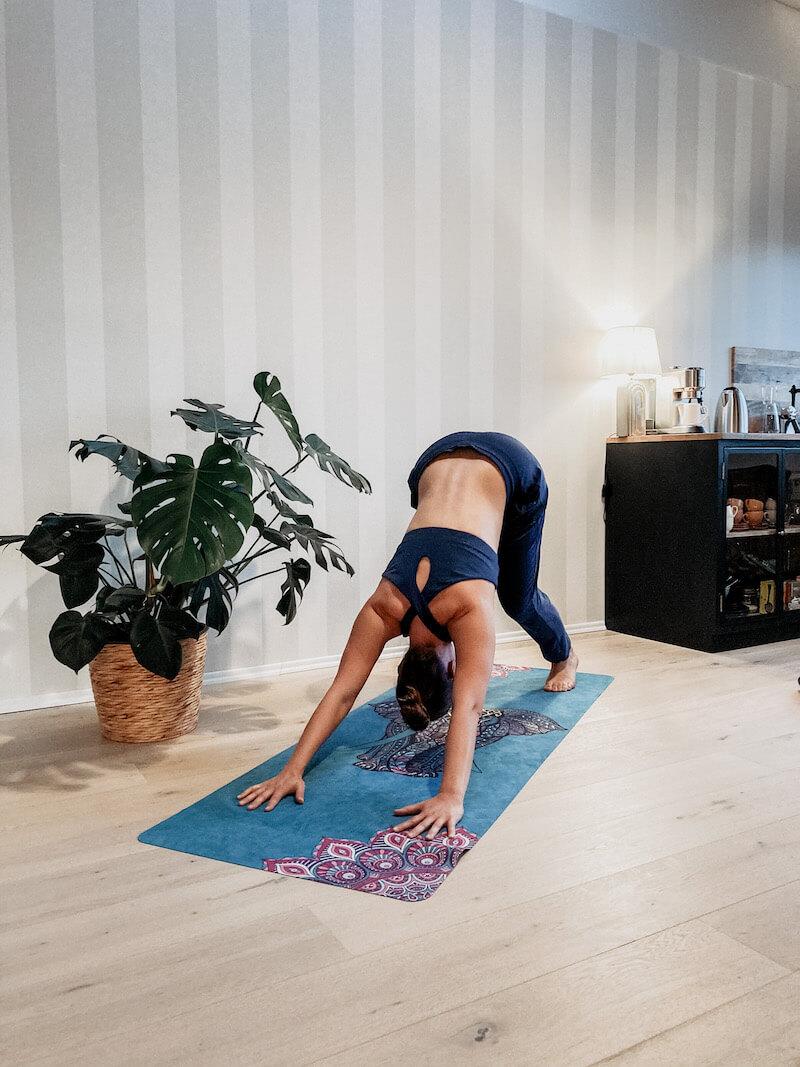 Yoga Pose Herabschauender Hund