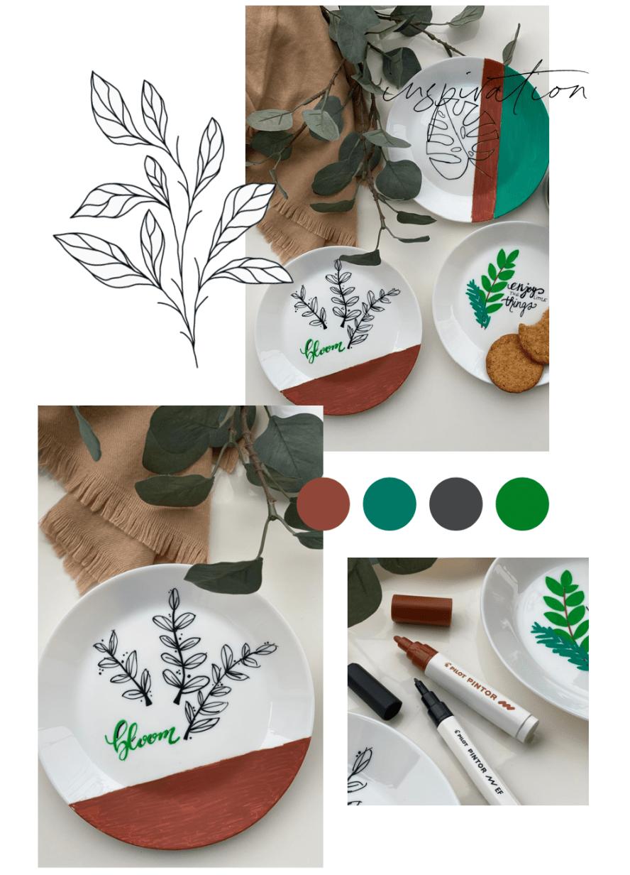 Ikea Upcycling Porzellan Bemalen Mit Pintor Stiften